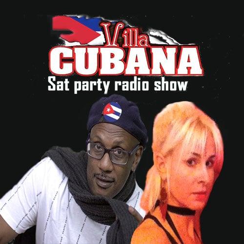 Del salereo & Sofi-cook our salsa soul radio Villa Cubana show